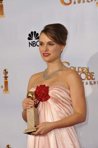 """The Golden Globe Awards - 68th Annual"" (Press Room)Natalie Portman1-16-2011 © 2011 Jean Cummings - Image 24010_0379"