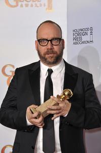 """The Golden Globe Awards - 68th Annual"" (Press Room)Paul Giamatti1-16-2011 © 2011 Jean Cummings - Image 24010_0383"