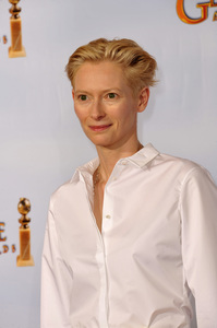 """The Golden Globe Awards - 68th Annual"" (Press Room)Tilda Swinton1-16-2011 © 2011 Jean Cummings - Image 24010_0392"