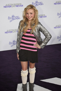 """Justin Bieber: Never Say Never"" Premiere Peyton List 2-8-2011 / Nokia Theater L.A. Live / Paramount Pictures / Los Angeles CA / Photo by Imeh Akpanudosen - Image 24016_0134"