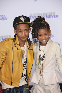 """""""Justin Bieber: Never Say Never"""" Premiere Jaden Smith, Willow Smith 2-8-2011 / Nokia Theater L.A. Live / Paramount Pictures / Los Angeles CA / Photo by Imeh Akpanudosen - Image 24016_0483"""