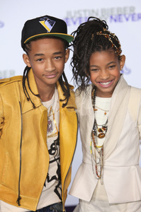 """""""Justin Bieber: Never Say Never"""" Premiere Jaden Smith, Willow Smith 2-8-2011 / Nokia Theater L.A. Live / Paramount Pictures / Los Angeles CA / Photo by Imeh Akpanudosen - Image 24016_0484"""