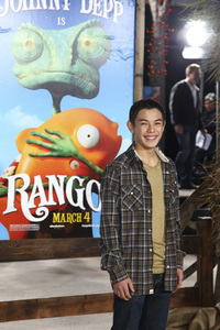 """Rango"" Premiere Ryan Potter 2-14-2011 / Paramount Studios / Village Theater / Los Angeles CA / Photo by Imeh Akpanudosen - Image 24022_0014"