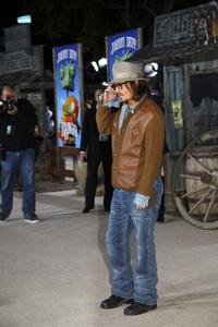 """Rango"" Premiere Johnny Depp 2-14-2011 / Paramount Studios / Village Theater / Los Angeles CA / Photo by Imeh Akpanudosen - Image 24022_0168"