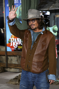 """Rango"" Premiere Johnny Depp 2-14-2011 / Paramount Studios / Village Theater / Los Angeles CA / Photo by Imeh Akpanudosen - Image 24022_0172"
