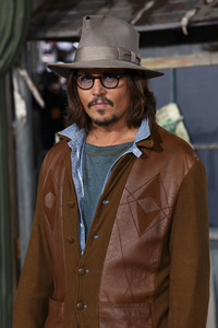 """Rango"" Premiere Johnny Depp 2-14-2011 / Paramount Studios / Village Theater / Los Angeles CA / Photo by Imeh Akpanudosen - Image 24022_0175"