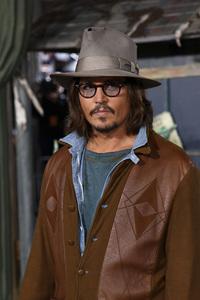 """Rango"" Premiere Johnny Depp 2-14-2011 / Paramount Studios / Village Theater / Los Angeles CA / Photo by Imeh Akpanudosen - Image 24022_0176"