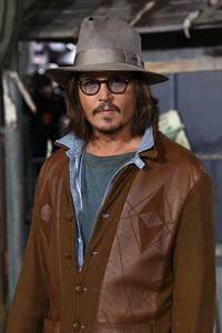 """Rango"" Premiere Johnny Depp 2-14-2011 / Paramount Studios / Village Theater / Los Angeles CA / Photo by Imeh Akpanudosen - Image 24022_0177"