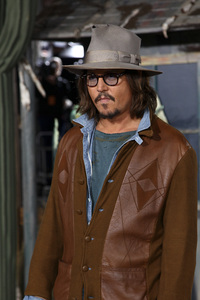 """Rango"" Premiere Johnny Depp 2-14-2011 / Paramount Studios / Village Theater / Los Angeles CA / Photo by Imeh Akpanudosen - Image 24022_0178"