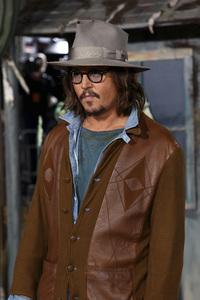 """Rango"" Premiere Johnny Depp 2-14-2011 / Paramount Studios / Village Theater / Los Angeles CA / Photo by Imeh Akpanudosen - Image 24022_0179"