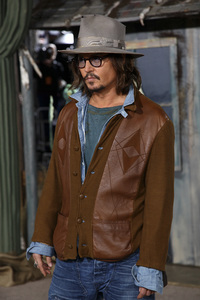 """Rango"" Premiere Johnny Depp 2-14-2011 / Paramount Studios / Village Theater / Los Angeles CA / Photo by Imeh Akpanudosen - Image 24022_0180"