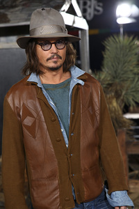 """Rango"" Premiere Johnny Depp 2-14-2011 / Paramount Studios / Village Theater / Los Angeles CA / Photo by Imeh Akpanudosen - Image 24022_0181"