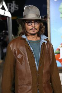 """Rango"" Premiere Johnny Depp 2-14-2011 / Paramount Studios / Village Theater / Los Angeles CA / Photo by Imeh Akpanudosen - Image 24022_0182"