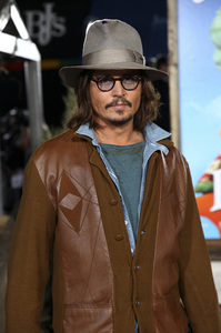 """Rango"" Premiere Johnny Depp 2-14-2011 / Paramount Studios / Village Theater / Los Angeles CA / Photo by Imeh Akpanudosen - Image 24022_0182"