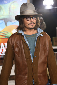 """Rango"" Premiere Johnny Depp 2-14-2011 / Paramount Studios / Village Theater / Los Angeles CA / Photo by Imeh Akpanudosen - Image 24022_0186"