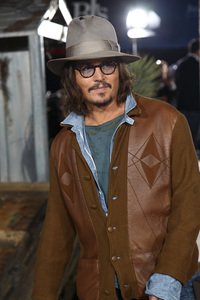 """Rango"" Premiere Johnny Depp 2-14-2011 / Paramount Studios / Village Theater / Los Angeles CA / Photo by Imeh Akpanudosen - Image 24022_0188"