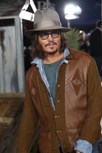"""Rango"" Premiere Johnny Depp 2-14-2011 / Paramount Studios / Village Theater / Los Angeles CA / Photo by Imeh Akpanudosen - Image 24022_0188"