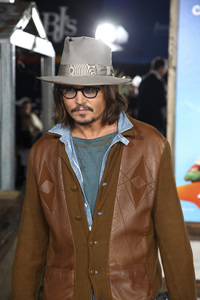 """Rango"" Premiere Johnny Depp 2-14-2011 / Paramount Studios / Village Theater / Los Angeles CA / Photo by Imeh Akpanudosen - Image 24022_0191"