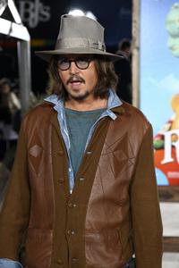 """Rango"" Premiere Johnny Depp 2-14-2011 / Paramount Studios / Village Theater / Los Angeles CA / Photo by Imeh Akpanudosen - Image 24022_0192"