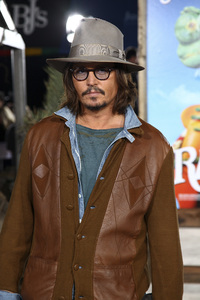 """Rango"" Premiere Johnny Depp 2-14-2011 / Paramount Studios / Village Theater / Los Angeles CA / Photo by Imeh Akpanudosen - Image 24022_0193"