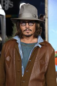 """Rango"" Premiere Johnny Depp 2-14-2011 / Paramount Studios / Village Theater / Los Angeles CA / Photo by Imeh Akpanudosen - Image 24022_0194"