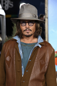 """Rango"" Premiere Johnny Depp 2-14-2011 / Paramount Studios / Village Theater / Los Angeles CA / Photo by Imeh Akpanudosen - Image 24022_0194"