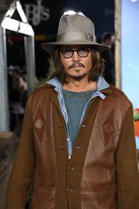 """Rango"" Premiere Johnny Depp 2-14-2011 / Paramount Studios / Village Theater / Los Angeles CA / Photo by Imeh Akpanudosen - Image 24022_0195"
