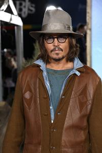 """Rango"" Premiere Johnny Depp 2-14-2011 / Paramount Studios / Village Theater / Los Angeles CA / Photo by Imeh Akpanudosen - Image 24022_0196"
