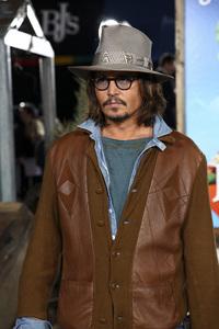 """Rango"" Premiere Johnny Depp 2-14-2011 / Paramount Studios / Village Theater / Los Angeles CA / Photo by Imeh Akpanudosen - Image 24022_0197"