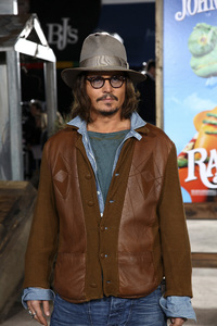 """Rango"" Premiere Johnny Depp 2-14-2011 / Paramount Studios / Village Theater / Los Angeles CA / Photo by Imeh Akpanudosen - Image 24022_0203"