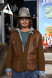 """Rango"" Premiere Johnny Depp 2-14-2011 / Paramount Studios / Village Theater / Los Angeles CA / Photo by Imeh Akpanudosen - Image 24022_0204"