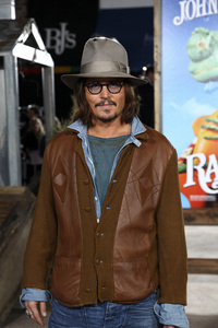 """Rango"" Premiere Johnny Depp 2-14-2011 / Paramount Studios / Village Theater / Los Angeles CA / Photo by Imeh Akpanudosen - Image 24022_0205"