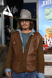 """Rango"" Premiere Johnny Depp 2-14-2011 / Paramount Studios / Village Theater / Los Angeles CA / Photo by Imeh Akpanudosen - Image 24022_0207"