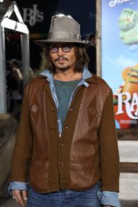 """Rango"" Premiere Johnny Depp 2-14-2011 / Paramount Studios / Village Theater / Los Angeles CA / Photo by Imeh Akpanudosen - Image 24022_0208"