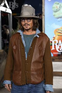 """Rango"" Premiere Johnny Depp 2-14-2011 / Paramount Studios / Village Theater / Los Angeles CA / Photo by Imeh Akpanudosen - Image 24022_0209"