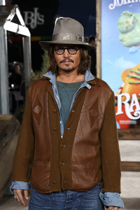"""Rango"" Premiere Johnny Depp 2-14-2011 / Paramount Studios / Village Theater / Los Angeles CA / Photo by Imeh Akpanudosen - Image 24022_0214"