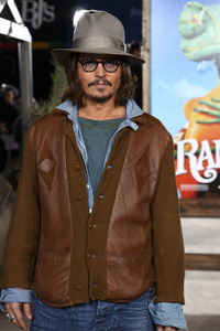 """Rango"" Premiere Johnny Depp 2-14-2011 / Paramount Studios / Village Theater / Los Angeles CA / Photo by Imeh Akpanudosen - Image 24022_0216"
