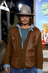 """Rango"" Premiere Johnny Depp 2-14-2011 / Paramount Studios / Village Theater / Los Angeles CA / Photo by Imeh Akpanudosen - Image 24022_0218"