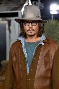"""Rango"" Premiere Johnny Depp 2-14-2011 / Paramount Studios / Village Theater / Los Angeles CA / Photo by Imeh Akpanudosen - Image 24022_0222"
