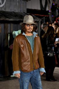 """Rango"" Premiere Johnny Depp 2-14-2011 / Paramount Studios / Village Theater / Los Angeles CA / Photo by Imeh Akpanudosen - Image 24022_0229"