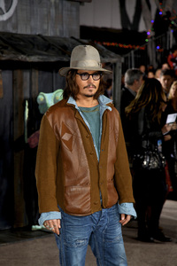 """Rango"" Premiere Johnny Depp 2-14-2011 / Paramount Studios / Village Theater / Los Angeles CA / Photo by Imeh Akpanudosen - Image 24022_0229"