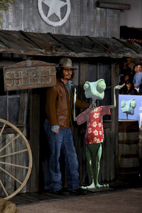"""Rango"" Premiere Johnny Depp 2-14-2011 / Paramount Studios / Village Theater / Los Angeles CA / Photo by Imeh Akpanudosen - Image 24022_0232"