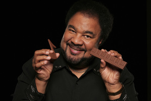 "George Duke during a photo session for his album  ""Dukey Treats""2008© 2008 Bobby Holland - Image 24030_0039"