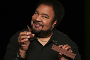 "George Duke during a photo session for his album  ""Dukey Treats""2008© 2008 Bobby Holland - Image 24030_0040"