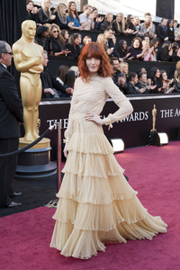 """The Academy Awards - 83rd Annual"" (Arrivals) Florence Welch02-27-2011 Photo by Ivan Vejar © 2011 A.M.P.A.S. - Image 24036_0025"