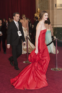 """""""The Academy Awards - 83rd Annual"""" (Arrivals) Anne Hathaway02-27-2011 Photo by John Selig © 2011 A.M.P.A.S. - Image 24036_0035"""