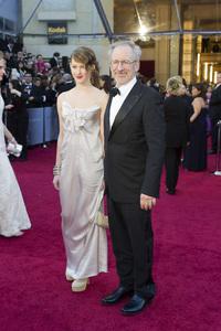 """The Academy Awards - 83rd Annual"" (Arrivals) Steven Spielberg, Destry Spielberg02-27-2011 Photo by Darren Decker © 2011 A.M.P.A.S. - Image 24036_0075"