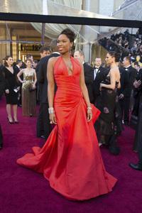 """The Academy Awards - 83rd Annual"" (Arrivals) Jennifer Hudson02-27-2011 Photo by Darren Decker © 2011 A.M.P.A.S. - Image 24036_0101"