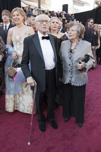 """The Academy Awards - 83rd Annual"" (Arrivals) Eli Wallach, Anne Jackson02-27-2011 Photo by Ivan Vejar © 2011 A.M.P.A.S. - Image 24036_0127"
