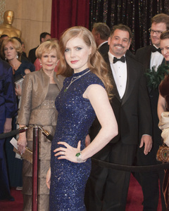 """""""The Academy Awards - 83rd Annual"""" (Arrivals) Amy Adams02-27-2011 Photo by Jonathan Selig © 2011 A.M.P.A.S. - Image 24036_0179"""